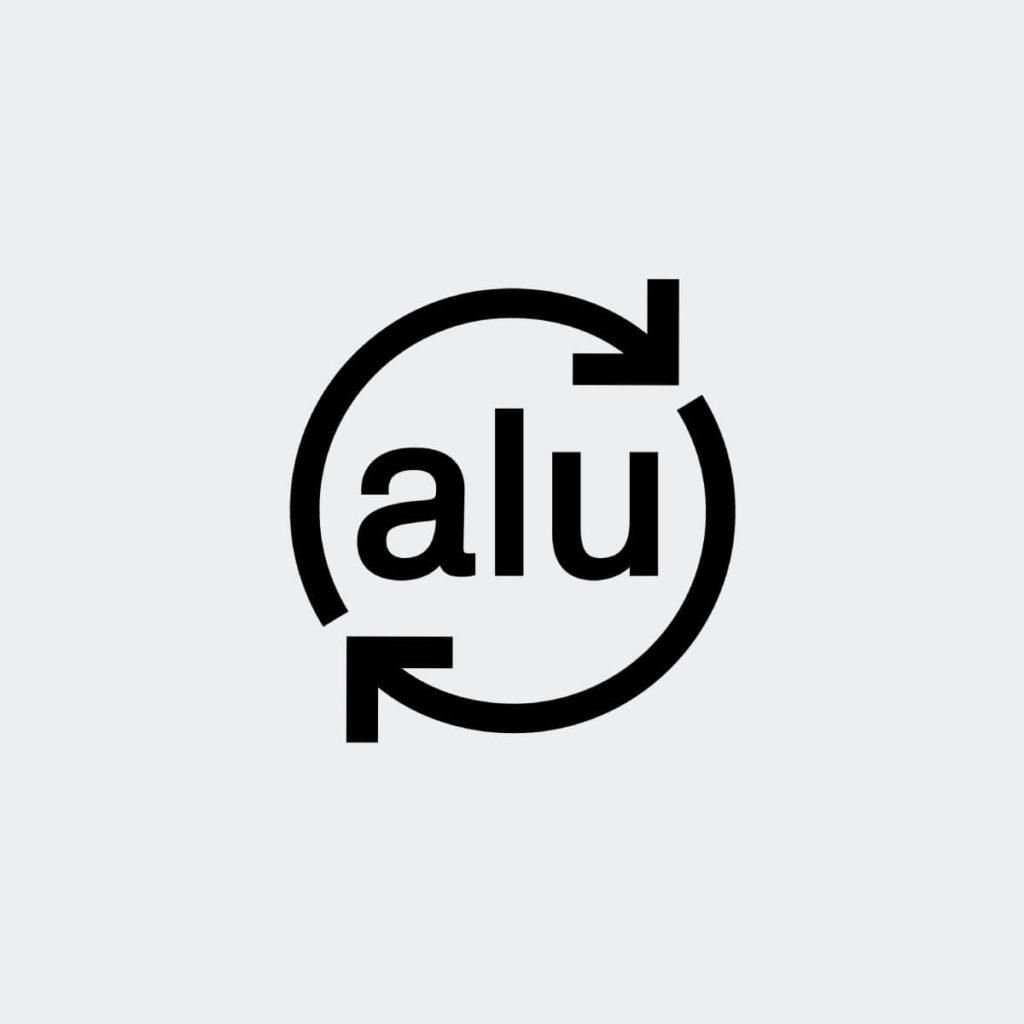 Recyclable-aluminium