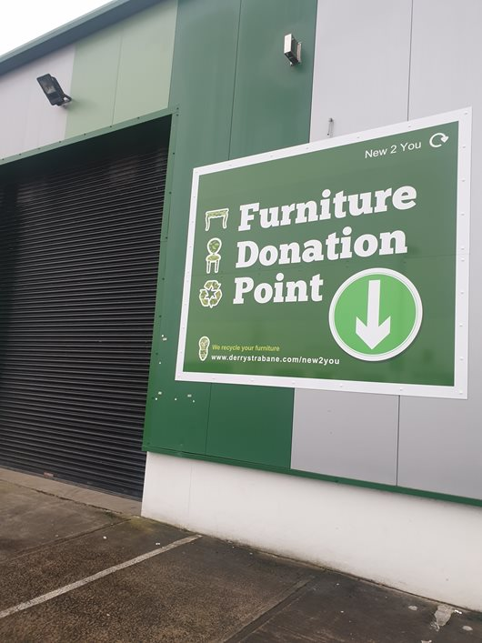 Furniture donation point new 2 you reuse centre derry
